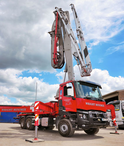 concrete pumps for hire Bristol