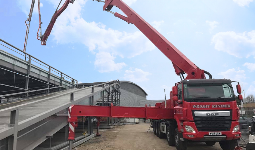 Wright MiniMix - Concrete Pumping - UK's Largest Concrete Pump