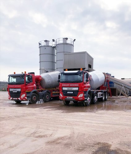 ready mix concrete delivery Chippenham