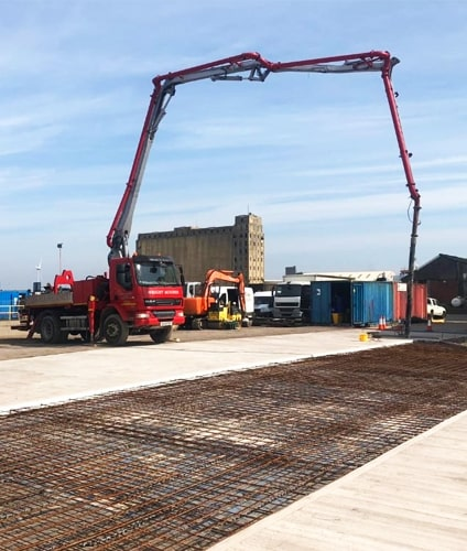 concrete pumping services Chippenham